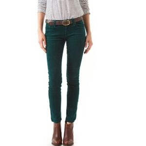 7 for all mankind corduroy Skinny Pants Size 25